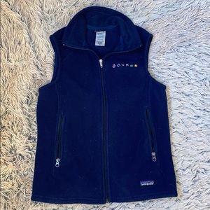 Patagonia woman's vest! Navy blue!